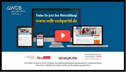 Das WDB Suchportal-Erklärvideo